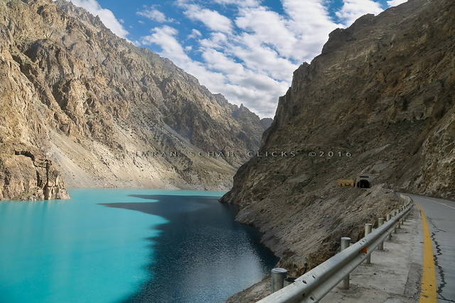 Ataabad lake