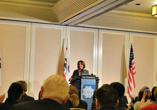 Congresswoman Pelosi joins Interfaith Council Prayer Breakfast