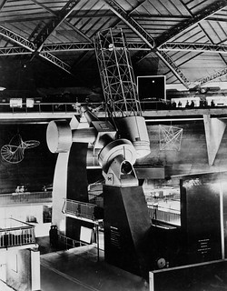 "74"" telescope on display for the Festival of Britain"