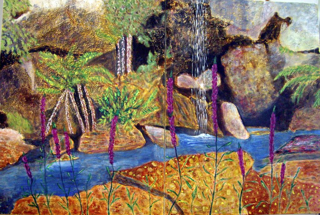 Rock Garden Painting
