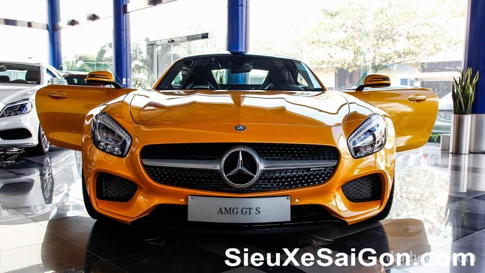 Mercedes GTS 2016