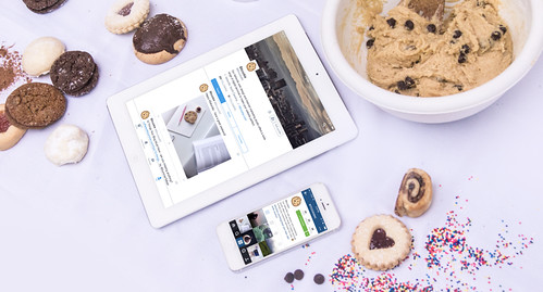 Devices and cookies... Our favorite things!
