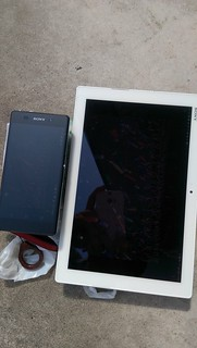 Xperia Z4 Tablet vs Xperia Z2 炎天下 (2)