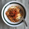 If you had leftover rice, homemade kimchi, and eggs, what would you do?