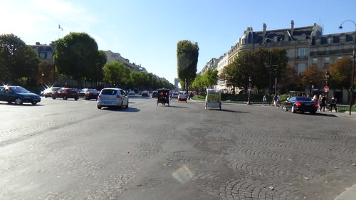 Paris Av des Champs Elysees Aug 15 3
