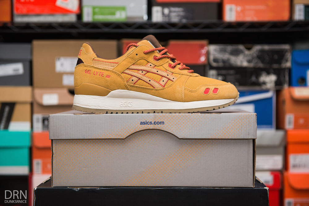 Honey Mustard Gel Lyte III's.