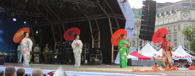 Hiroko Tanaka Japanese Dancers