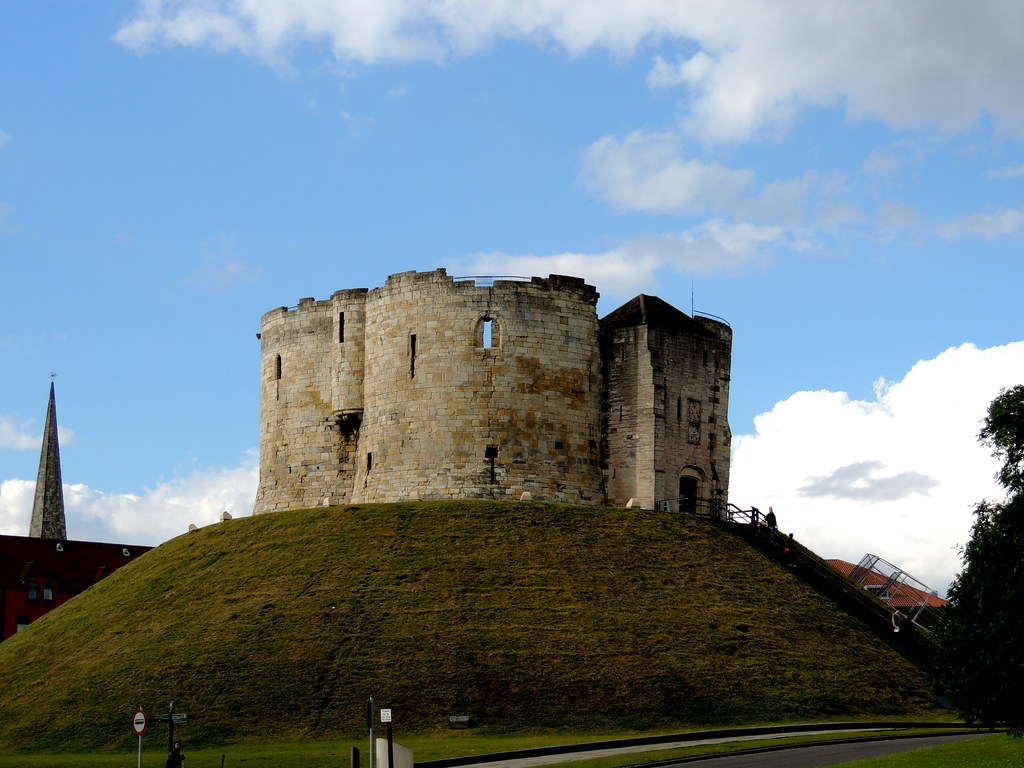 Clifford`s Tower. York, UK