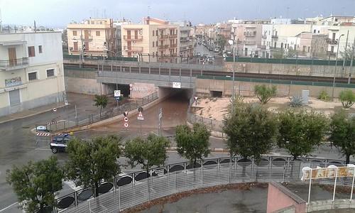 foto vincenzo tedeschi ponte sottopasso via castellana