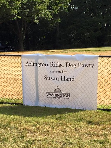 The 5th Annual Arlington Ridge Dog Pawty sponsored by Susan Hand of Washington Fine Properties