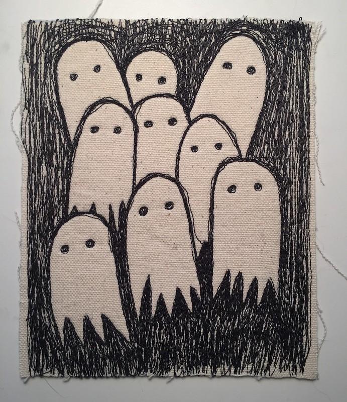 drawlloween day 1: ghost