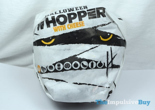 Burger King A.1. Halloween Whopper Wrapper