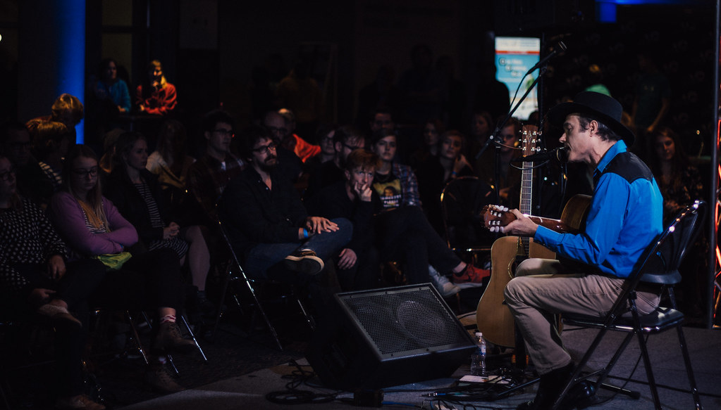 Simon Joyner @ Hear Nebraska Stage | 10.17.15 | Holland Stages Festival