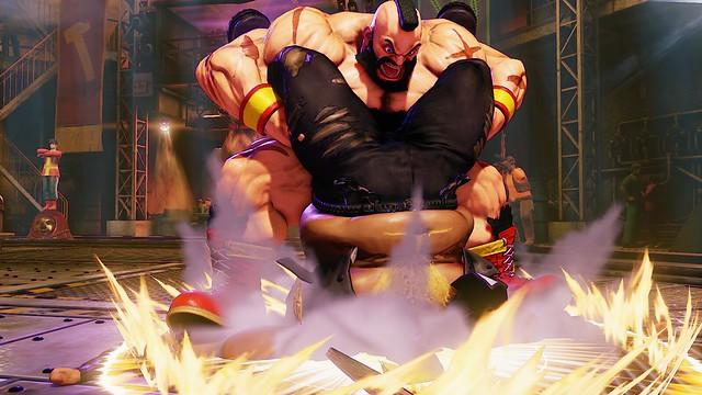 Street Fighter V Zangief