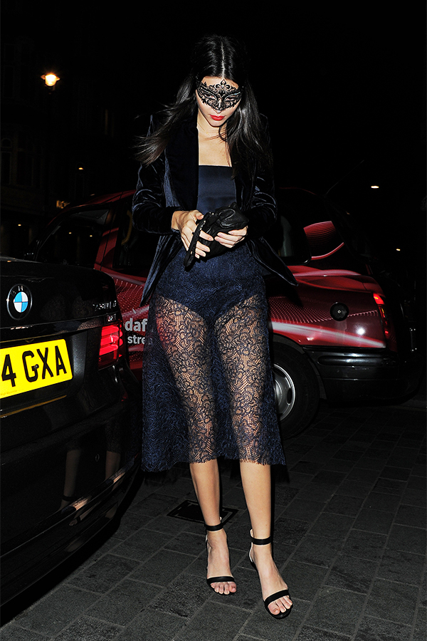 Kendall Jenner Heading to Ella Cavalli's Birthday Dinner Party