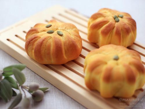 かぼちゃパン 20151023-IMG_9855_1