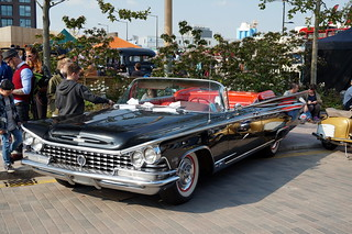 1959 Buick Electra 225 Convertible at Kings Cross Classic Car Show