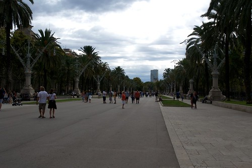 Walk around Barcelona
