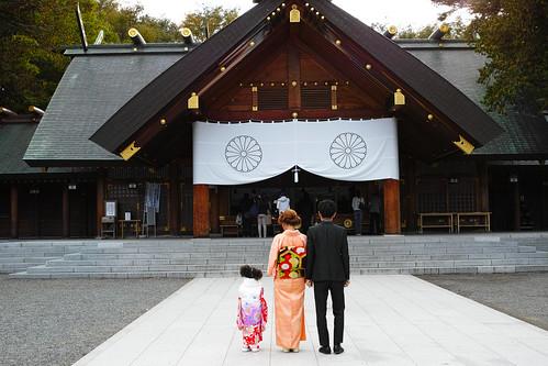 北海道神社 七五三のお参り