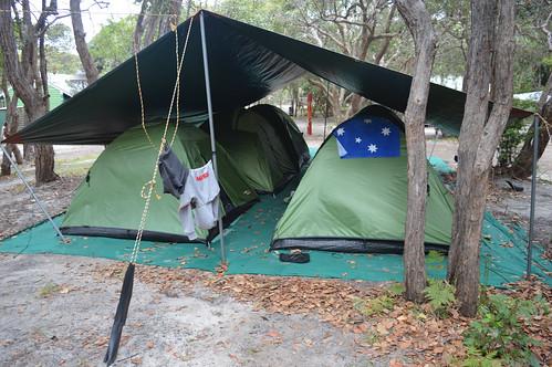 Die Zelte