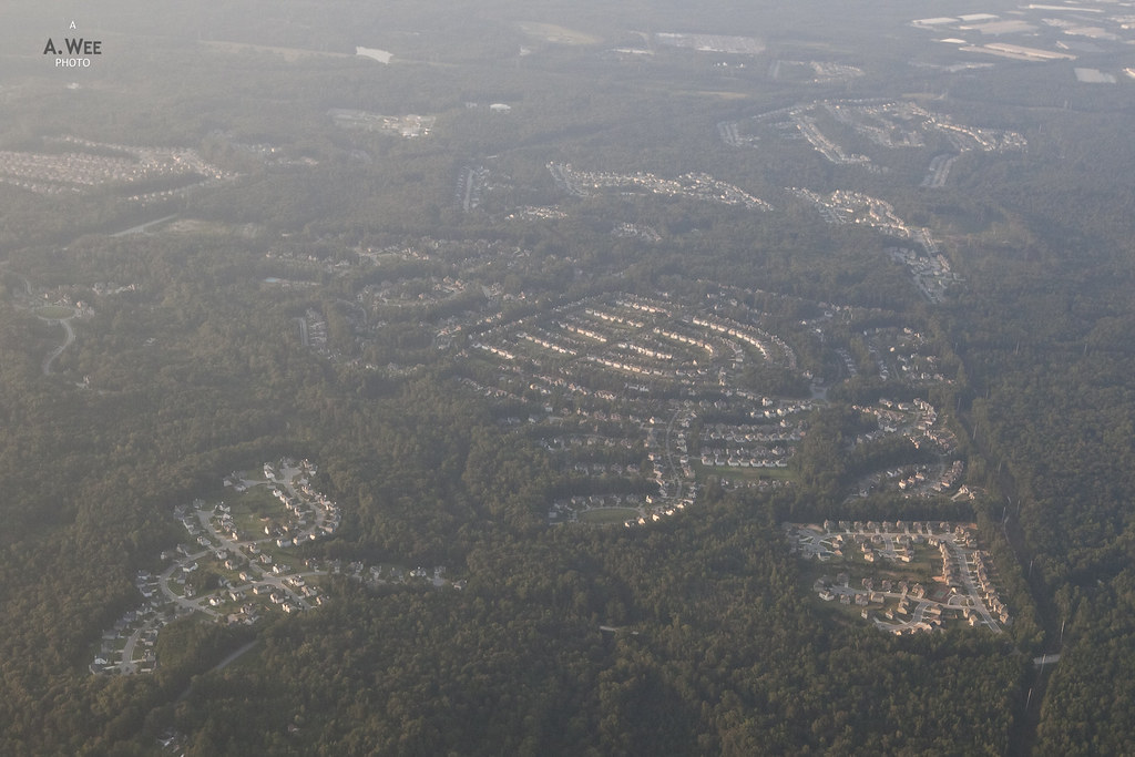 Residential suburb of Atlanta