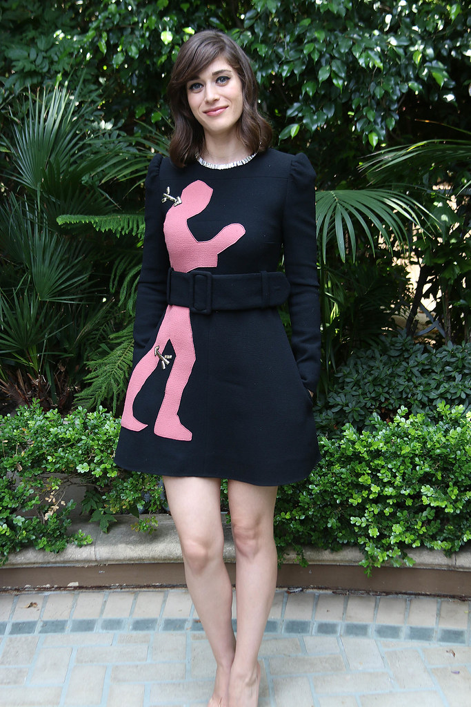 Лиззи Каплан — Пресс-конференция «Мастера секса» 2014 – 8