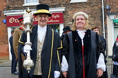 Hedon Mace Bearer and Town Clerk