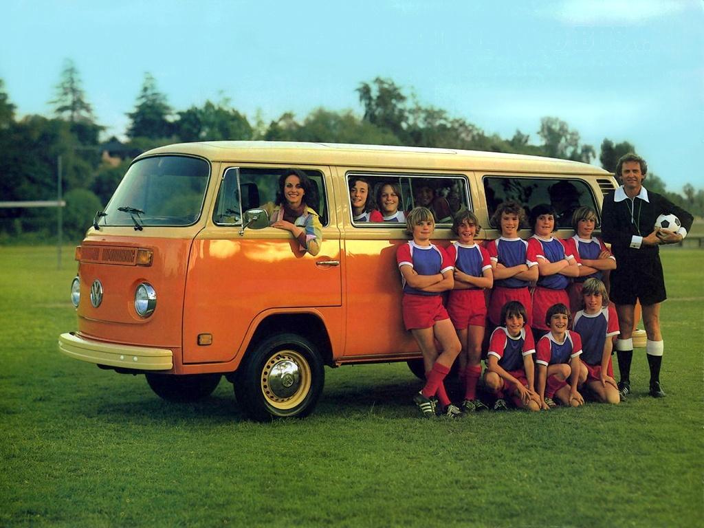 Минивэн Volkswagen T2 Bus. 1967 - 1972 годы