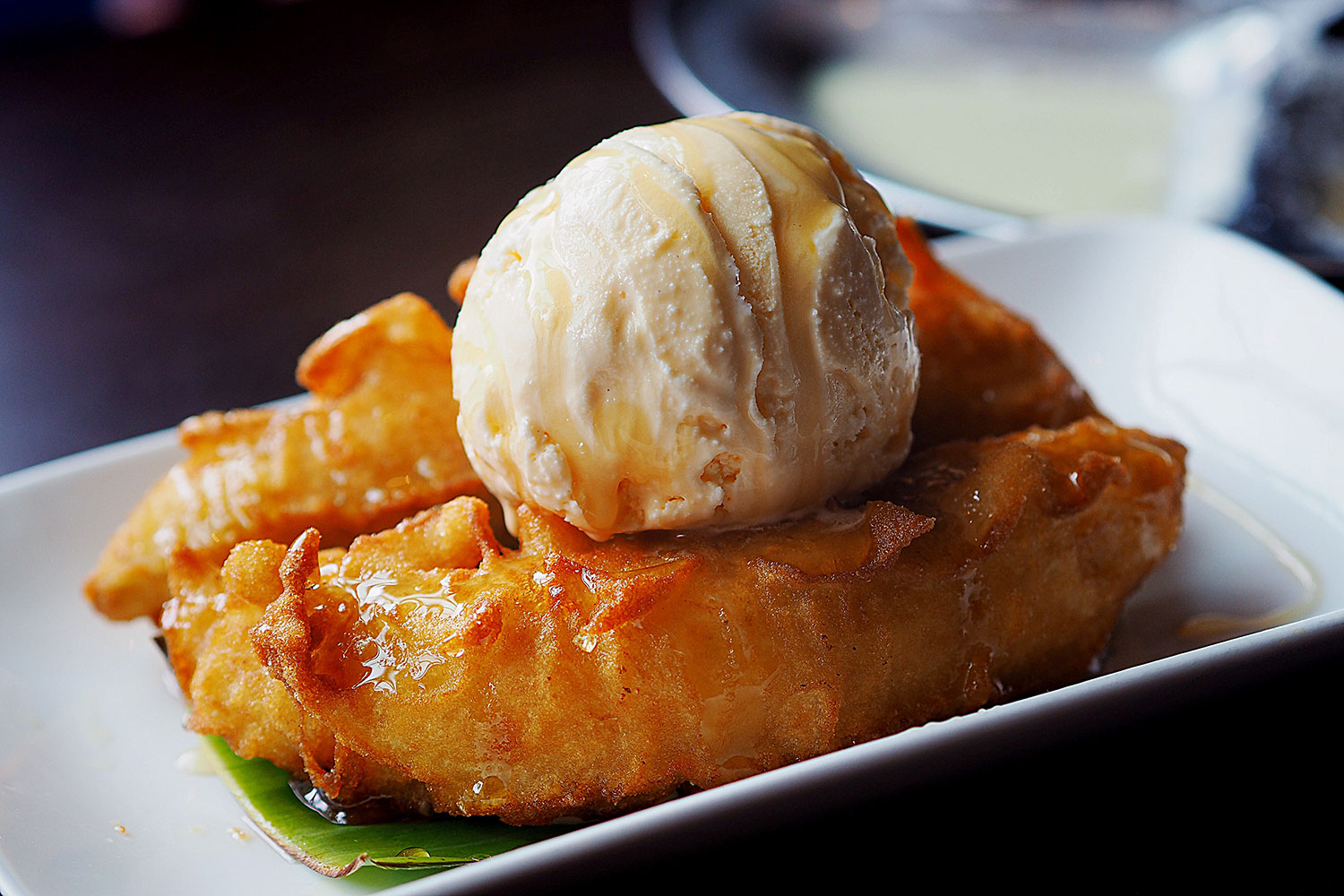 Fried Banana Fritters, PappaRich Chatswood: Sydney Food Blog Review