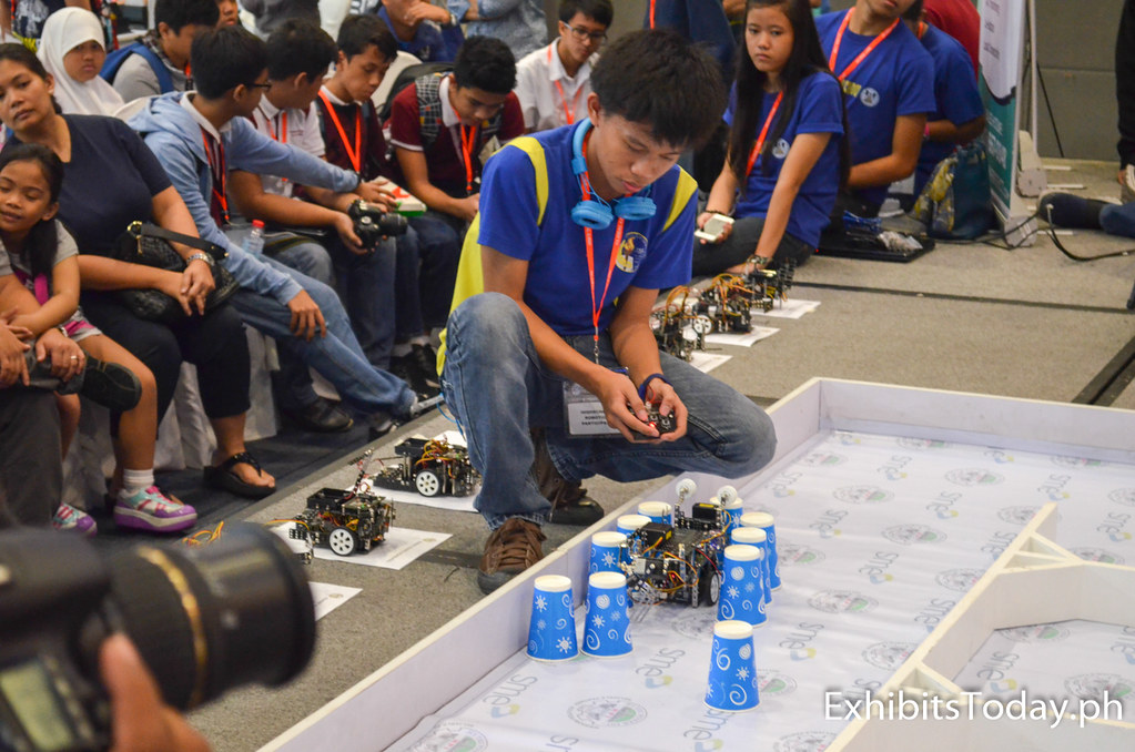 International Robotics Challenge contestant