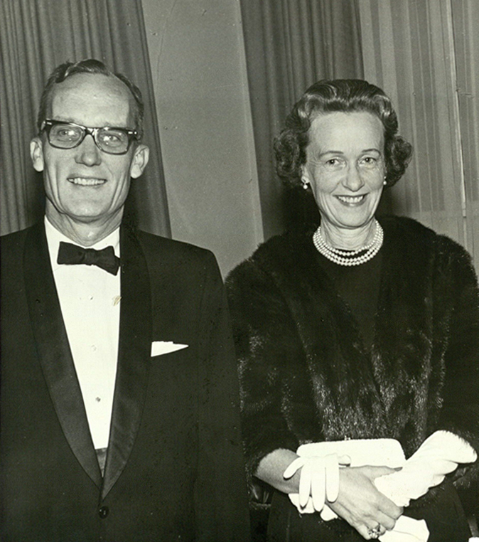 Thomas and Nancy Mann