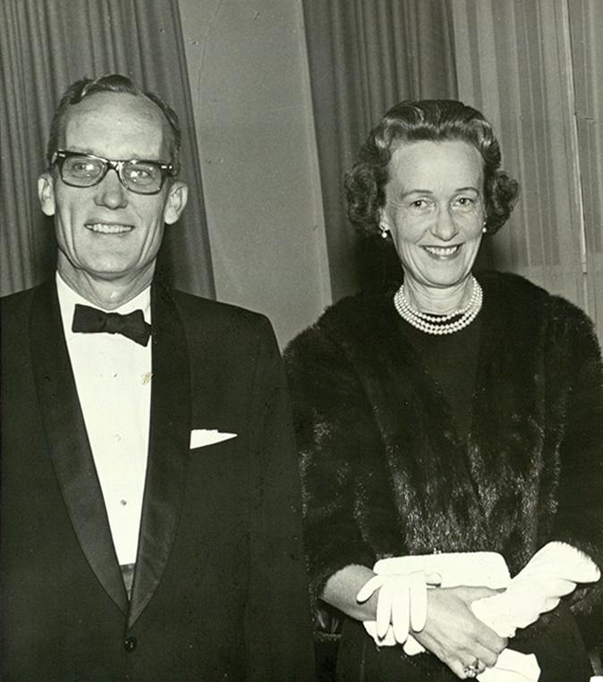 Thomas and Nancy Mann