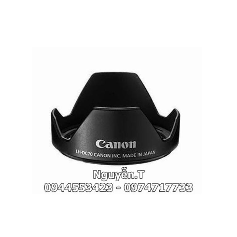Loa che nắng lens hood LH DC70 Canon G1X