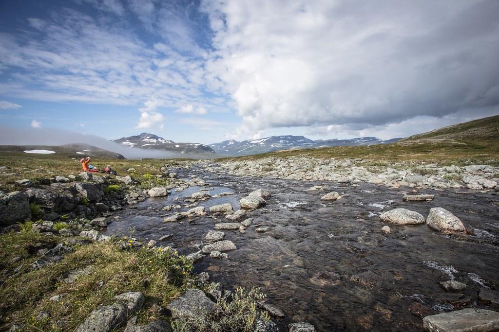 Midsummer. Lappland. Troms. Norway. #7monthspregnantinpicture #6kgbackpack