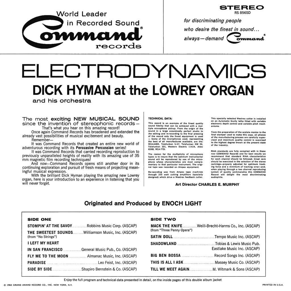 Dick Hyman - Electrodynamics