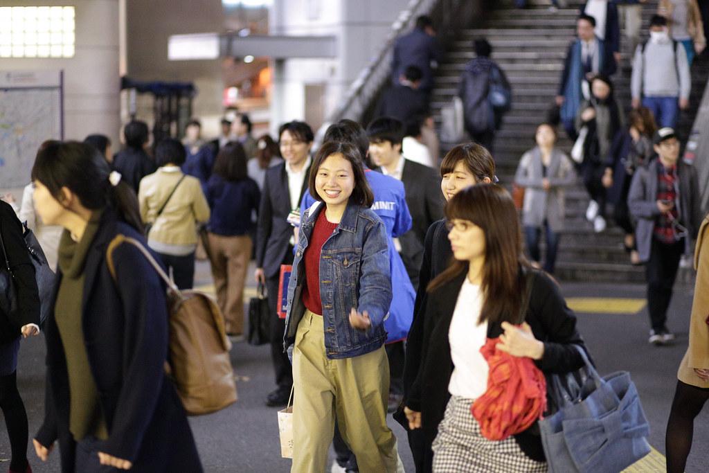Dogenzaka 1 Chome, Tokyo, Shibuya-ku, Tokyo Prefecture, Japan, 0.008 sec (1/125), f/1.8, 85 mm, EF85mm f/1.8 USM