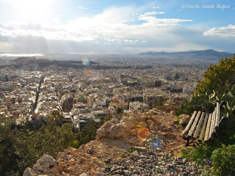 Acrópolis desde Licabeto