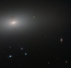 Hubble Peers Through the Elliptical Haze