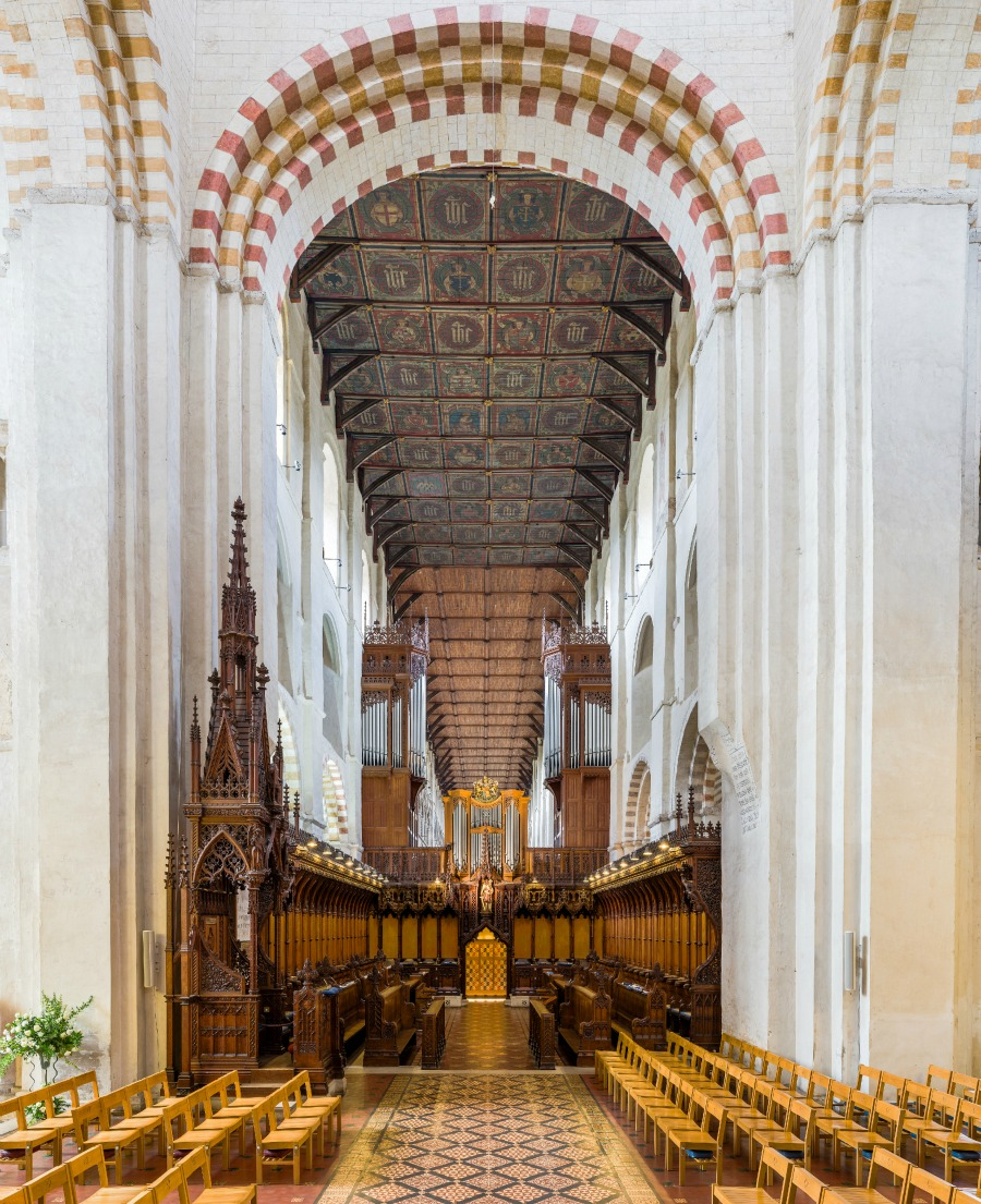 St Albans Cathedral - The choir. Credit: David Iliff