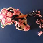 OOAK-Cherry Blossom hair stick