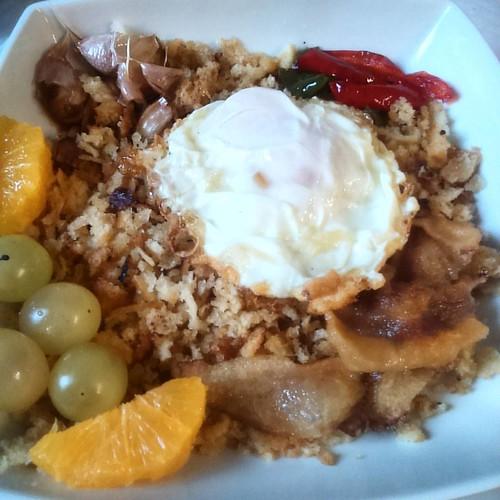 Riquísimas las #migas en el La Venta de #linares donde hemos comido platos típicos de #sierradegudar #DVEGudarJavalambre