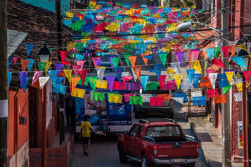 2015 - MEXICO - Chiapa de Corzo - Papel Picado