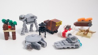 LEGO Star Wars Advent 2015 Miniatures