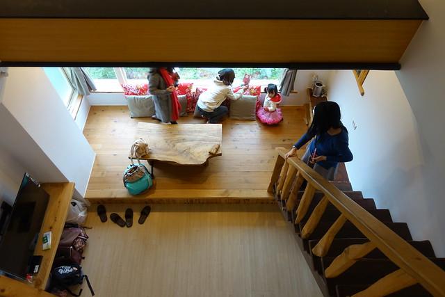 從二樓往下拍@宜蘭香格里拉休閒農場