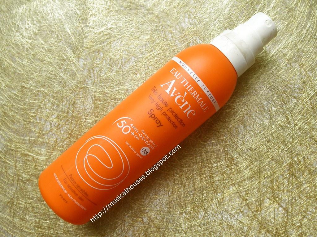 Empties Avene Sunscreen