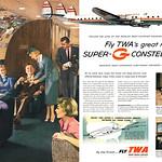 Sat, 2016-09-24 22:58 - TWA's Super-G Constellations, 1955 ad