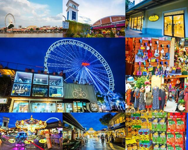 泰國曼谷 河濱夜市