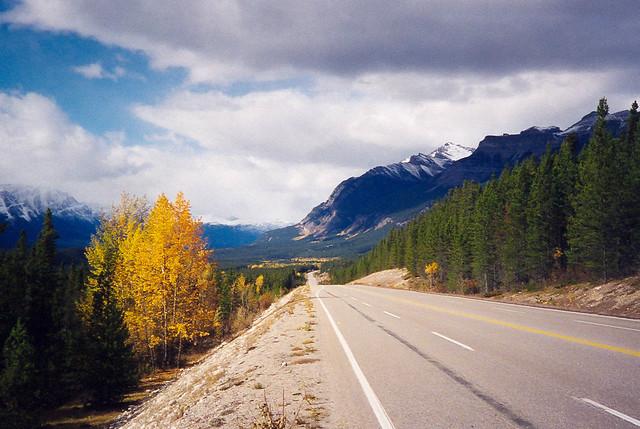 Old Film: Trans-Canada Highway, Canadian Rockies