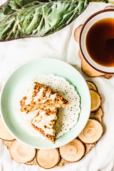 Oatmeal bars with dried fruit , carrot and peanut…