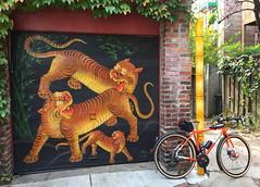 Rod's Birthday Ride Alley Art